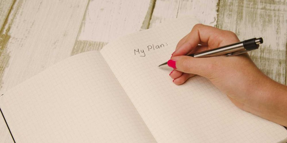 Writing a plan